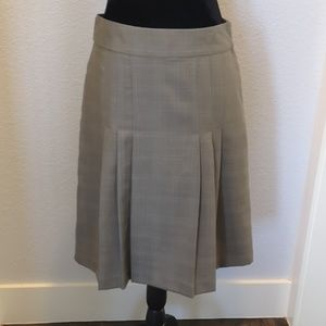 Banana Republic A-line Plaid Skirt